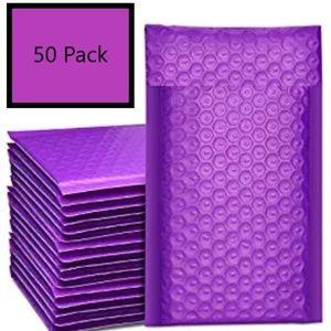 purple Bubble 4x8 Mailer 50 ct